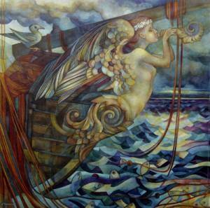"""Una donna chiamata """"nave"""""""