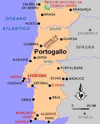 Portogallo Fisica Cartina.Un Viaggio In Portogallo