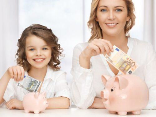 Imparare ad economizzare da piccoli