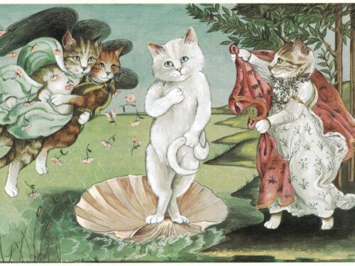 Susan Herbert e i gatti